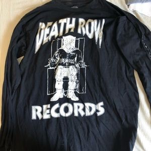 Men's small Death-row Records long sleeve t-shirt